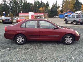 Used 2002 Honda Civic DX for sale in Parksville, BC