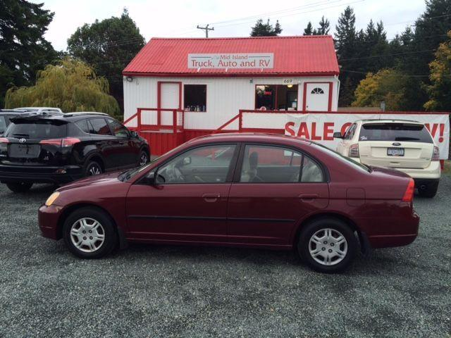 used 2002 honda civic dx for sale in parksville british. Black Bedroom Furniture Sets. Home Design Ideas