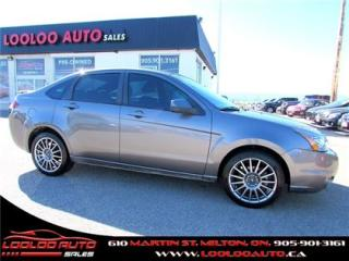 Used 2011 Ford Focus SES AUTOMATIC CERTIFIED 2 YEAR WARRANTY for sale in Milton, ON