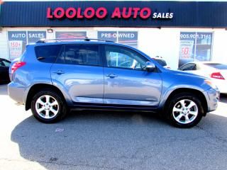Used 2009 Toyota RAV4 LIMITED AWD DVD BLUETOOTH CERTIFIED 2YR WARRA for sale in Milton, ON