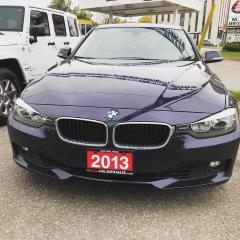 Used 2013 BMW 3 Series 320i xDrive/ACCIDENT FREE/ONE OWNER/ONTARIO CAR for sale in Brampton, ON