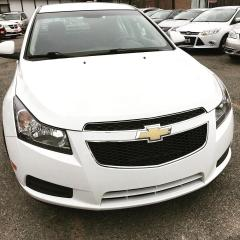 Used 2014 Chevrolet Cruze 1LT BACKUP CAMERA/ACCIDENT FREE/WHITE ON RED for sale in Brampton, ON