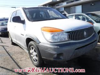 Used 2003 Buick RENDEZVOUS CX 4D UTILITY for sale in Calgary, AB