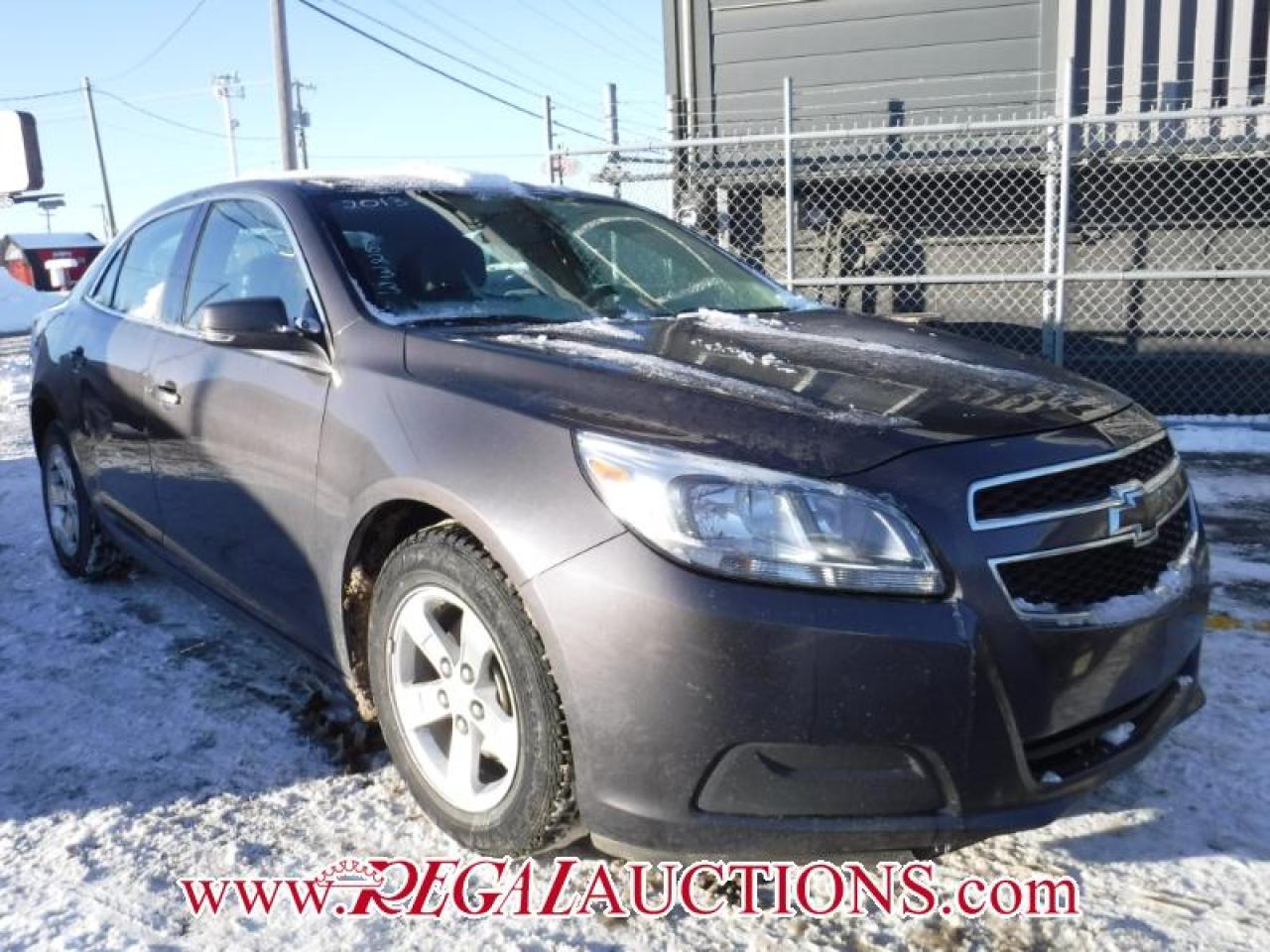 2013 Chevrolet MALIBU LS 4D SEDAN