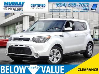 Used 2016 Kia Soul LX**Bluetooth**Air-Conditioning** for sale in Surrey, BC