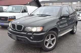 Used 2002 BMW X5 3.0i,Leather,Sunroof,AS-IS Special for sale in Aurora, ON