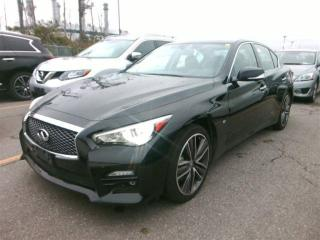 Used 2014 Infiniti Q50 Sport,NAVI,AWD,BLIND SPOTS for sale in Aurora, ON