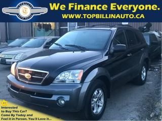 Used 2005 Kia Sorento EX AWD LEATHER, SUNROOF for sale in Concord, ON