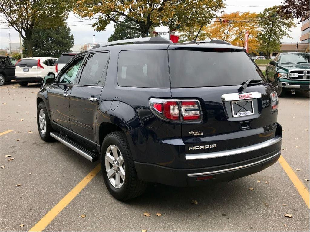 used 2015 gmc acadia sle2 with power tailgate for sale in vaughan ontario. Black Bedroom Furniture Sets. Home Design Ideas