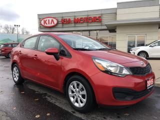 Used 2015 Kia Rio LX+ FRESH TRADE for sale in Woodstock, ON
