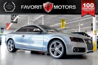 Used 2010 Audi S5 4.2L V8 QUATTRO | LTHR | MANUAL | HEATED SEATS for sale in North York, ON