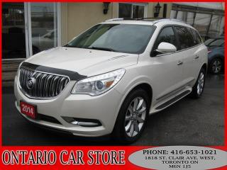 Used 2014 Buick Enclave PREMIUM NAVIGATION DUAL SUNROOF for sale in Toronto, ON