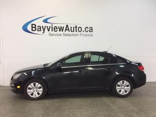 Used 2015 Chevrolet Cruze LT- 6 SPEED TURBO ECO MODE REV CAM MY LINK CRUISE! for sale in Belleville, ON