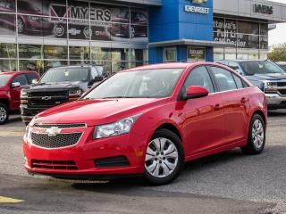 Used 2014 Chevrolet Cruze LT, AUTO, REAR VISION CAMERA, BLUETOOTH for sale in Ottawa, ON