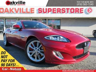 Used 2014 Jaguar XK XKR | 500 HP!! | LEATHER | NAVI | VERY RARE! for sale in Oakville, ON