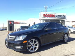 Used 2013 Mercedes-Benz C350 - 2 DR - 4MATIC - NAVI - PANORAMIC ROOF for sale in Oakville, ON