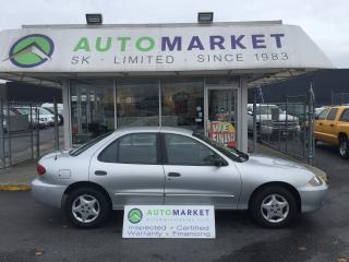 Used 2005 Chevrolet Cavalier *ONLY 23,459 ORIGINAL KM'S!!* FINANCE IT! for sale in Langley, BC