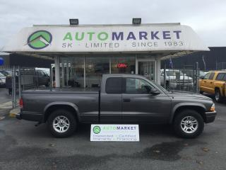 Used 2002 Dodge Dakota Sport Club Cab 2WD FINANCE IT! for sale in Langley, BC
