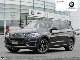 Used 2015 BMW X5 xDrive35i AWD | SOFT CLOSE DOORS | HEADS UP DISPLAY for sale in Oakville, ON