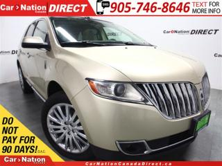 Used 2011 Lincoln MKX | AWD| DUAL SUNROOF| NAVI| LEATHER| for sale in Burlington, ON