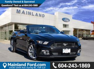 Used 2015 Ford Mustang GT Premium LOW KMS, NO ACCIDENTS for sale in Surrey, BC