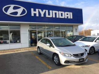 Used 2013 Honda Civic LX (M5) for sale in Owen Sound, ON
