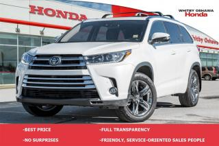 Used 2017 Toyota Highlander Limited | Automatic for sale in Whitby, ON