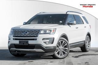 Used 2017 Ford Explorer Platinum | Automatic for sale in Whitby, ON