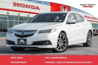 Used 2015 Acura TLX Elite Package | Automatic for sale in Whitby, ON