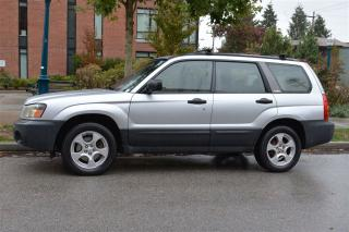 Used 2004 Subaru Forester 2.5X AWD for sale in Vancouver, BC