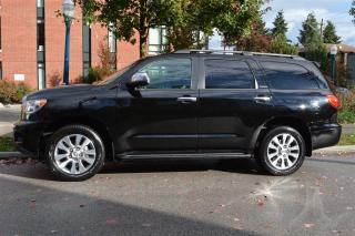 Used 2016 Toyota Sequoia Limited 8 Passenger 4WD for sale in Vancouver, BC