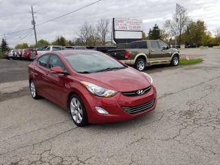 Used 2013 Hyundai Elantra Limited w/Navi for sale in Komoka, ON