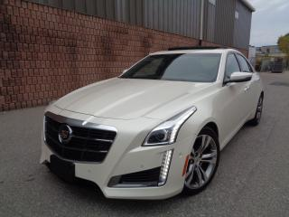 Used 2014 Cadillac CTS V-SPORT - TWIN TURBO - NAVI - CAMERA - HUD for sale in Etobicoke, ON