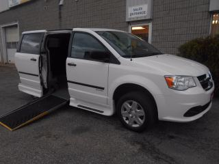 Used 2013 Dodge Caravan SE- Wheelchair Accessible Side Entry Conversion for sale in London, ON