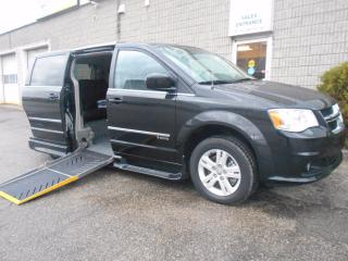 Used 2016 Dodge Caravan Crew Plus- Wheelchair Accessible Side Entry for sale in London, ON