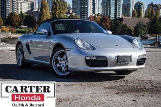 Used 2005 Porsche Boxster + LEATHER + LOW KMS + STICK! for sale in Vancouver, BC
