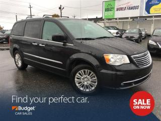 Used 2016 Chrysler Town & Country Entertainment System, Navigation, Leather Seating for sale in Vancouver, BC