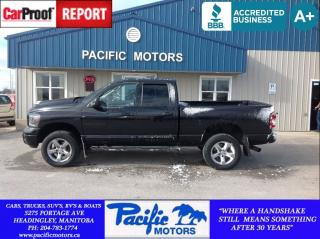 Used 2007 Dodge Ram 1500 SLT/TRX4 Off Road/Sport for sale in Headingley, MB