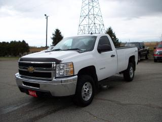Used 2011 Chevrolet Silverado 2500 LT 4x4 Long Box for sale in Stratford, ON