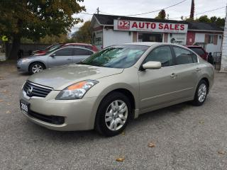 Used 2009 Nissan Altima 2.5 S/Automatic/Gas Saver/Certified for sale in Scarborough, ON