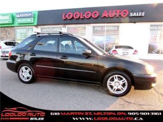 Used 2005 Subaru Impreza 2.5 RS WAGONAutomatic CERTIFIED 2YR WARRANTY for sale in Milton, ON
