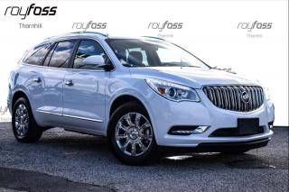 Used 2017 Buick Enclave AWD Leather Sunroof Chrome wheels for sale in Thornhill, ON