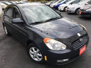 Used 2008 Hyundai Accent AUTO/LOADED/ALLOYS/DRIVES LIKE NEW for sale in Scarborough, ON