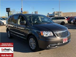 Used 2016 Chrysler Town & Country TOURING-L**DUAL DVD ENTERTAINMENT**POWER SUNROOF** for sale in Mississauga, ON
