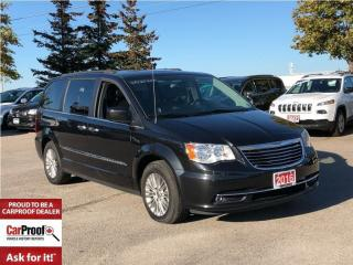 Used 2016 Chrysler Town & Country TOURING**DUAL DVD**POWER SUNROOF** for sale in Mississauga, ON