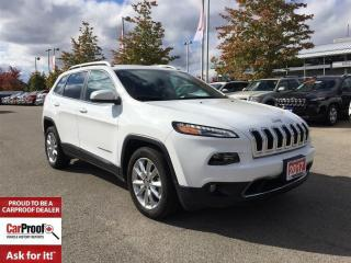 Used 2017 Jeep Cherokee LIMITED**REMOTE START**LEATHER HEATED SEATS** for sale in Mississauga, ON