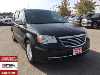 Used 2014 Chrysler Town & Country LIMITED**DUAL DVD**POWER SUNROOF**NAVIGATION** for sale in Mississauga, ON