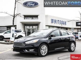 Used 2016 Ford Focus Titanium, LOADED, NAVI, ROOF, LEATHER for sale in Mississauga, ON