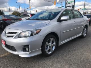 Used 2011 Toyota Corolla S for sale in Waterloo, ON