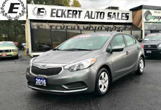 Used 2016 Kia Forte LX WITH BLUETOOTH for sale in Barrie, ON